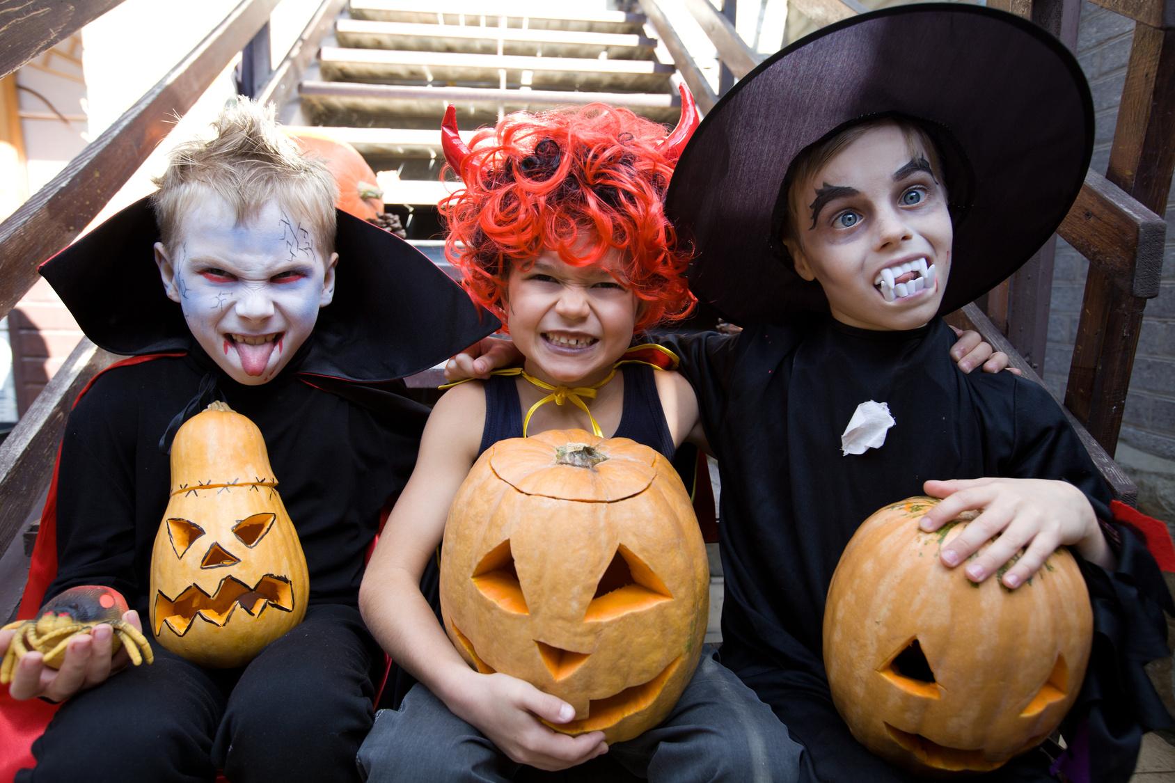 Картинки на праздник хэллоуин, аниме стиле