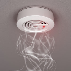 Smoke and fire detector