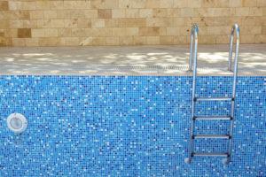 a home swimming pool