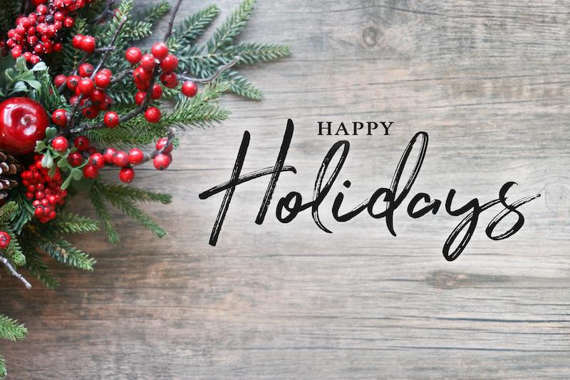 happy holidays message