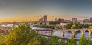 Minnesota skyline